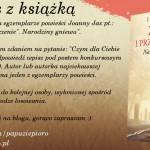 """""""Zemsta i przebaczenie. Tom I. Narodziny gniewu"""" Joanna Jax – KONKURS"""